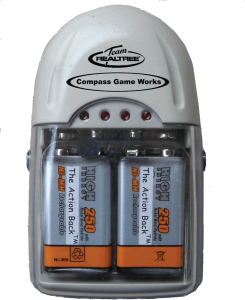 Ni-H Batteries and Charger